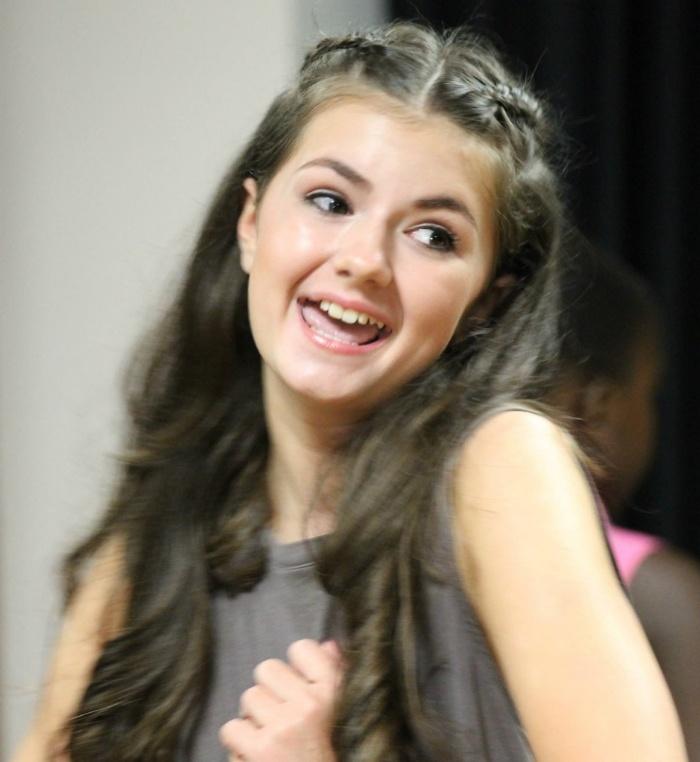 Teenage Girl Singing